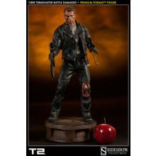 T:800 Terminator Battle Damaged Premium Format scale 1/4