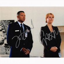 Autografo Terrence Howard & Gwyneth Paltrow - Iron Man Foto 20x25
