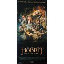 Locandina The Hobbit la Desolazione di Smaug italia 33x70