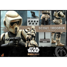 HOT TOYS TMS 016 THE MANDALORIAN - SCOUT TROOPER