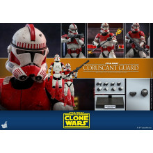 Hot Toys TMS 25 Star Wars : The Clone Wars – Coruscant Guard