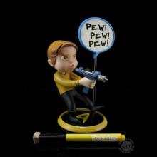 QMX Trekkies Kirk QPop Figure