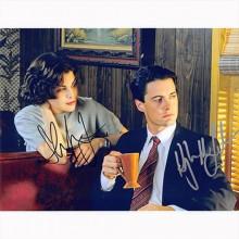 Autografo Kyle MacLachlan & Sherilyn Fenn - Twin Peaks Foto 20x25