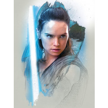 Quadro Star Wars The Last Jedi (Rey Brushstroke)