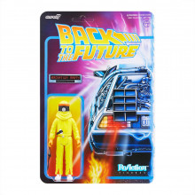 PREORDINE Back To The Future ReAction Action Figure Radiation Marty 10 cm