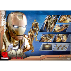 Hot Toys MMS 586 D36 Iron Man 3 – Mark XXI Midas