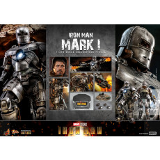 PREORDINE Hot Toys MMS 605 D40 Iron Man Mark I