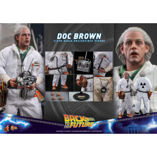 PREORDINE Hot Toys MMS 609 Back To The Future – Doc Brown