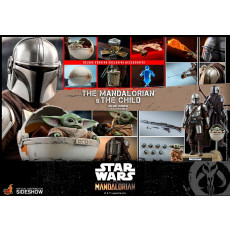 HOT TOYS TMS 14 Star Wars The Mandalorian Action Figure 2-Pack 1/6 The Mandalorian & The Child Deluxe 30 cm
