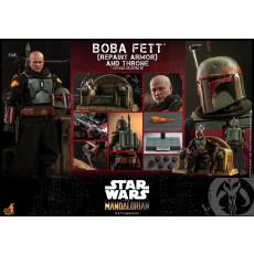 PREORDINE Hot Toys TMS 55 The Mandalorian – Boba Fett Repaint Armor & Throne