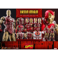 PREORDINE HOT TOYS CMS 07 D38 IRON MAN THE ORIGINS COLLECTION
