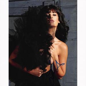 Autografo Lea Michele Foto 20x25