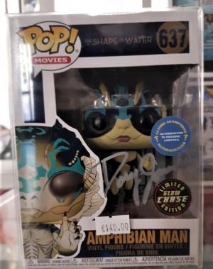 Autografo Doug Jones Funko Pop! Amphibian Man #637 Chase