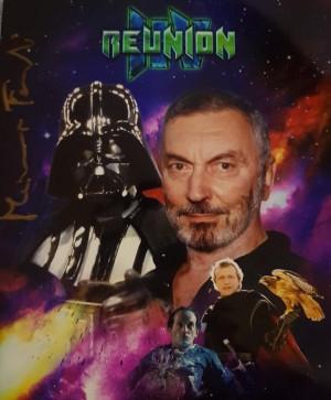Autografo Massimo Foschi Darth Vader Doppiatore  Foto 20x25