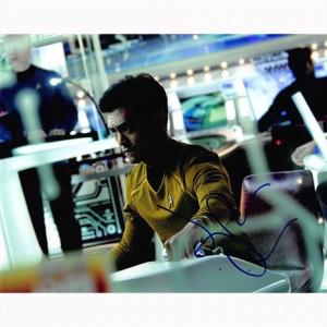 Autografo John Cho - Star Trek foto 20x25
