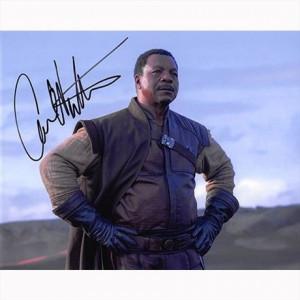 Autografo Carl Weathers - The Mandalorian Foto 20x25