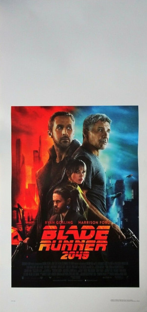 Locandina Blade Runner 2049 33x70