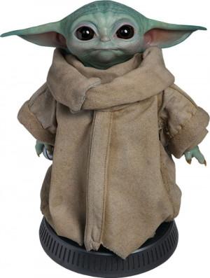 ACCONTO PREORDINE ! SALDO EURO 500,00 Star Wars The Mandalorian Life-Size Statue The Child  Baby Yoda 42 cm