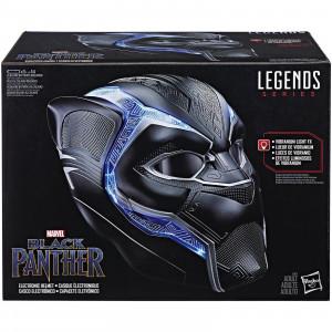 Casco elettronico indossabile 1:1 di Black Panther serie Marvel Legends, Hasbro