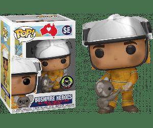 FUNKO Pop! RSPCA NATIONAL BUSHFIRE HEROES FIREFIGHTER WITH KOALA LIMITED Edition