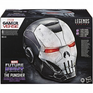 Riproduzione casco Punisher 1:1  War Machine, Marvel Legends Gamerverse – Hasbro