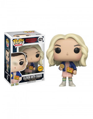 Funko Pop!  Stranger Things  Eleven with Eggos #421 Chase