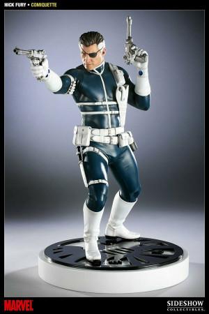 Sideshow Toys - Nick Fury - Comiquette Statuette 1/5 - 41