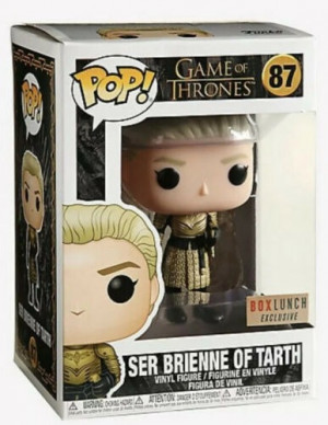 Funko Pop! Game of Thrones: Ser Brienne of Tarth #87 Box Lunch Exclusive