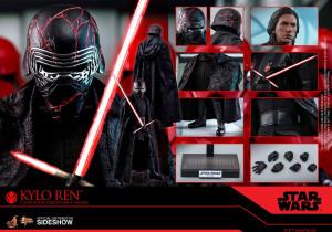 HOT TOYS Star Wars Episode IX Movie Masterpiece Action Figure 1/6 Kylo Ren 33 cm