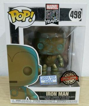 Funko POP! Marvel 80th Anniversary - Iron Man - Lucca Exclusive