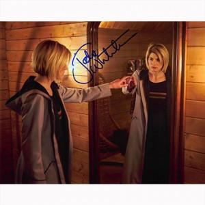 Autografo Jodie Whittaker - Doctor Who Foto 20x25