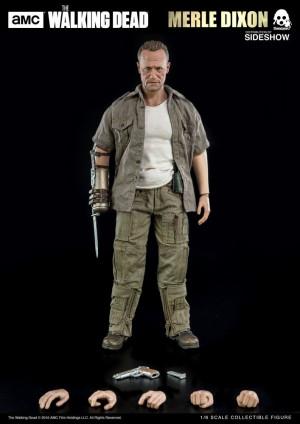 Threezero The Walking Merle Dixon Grimes 1/6 Scale Figure