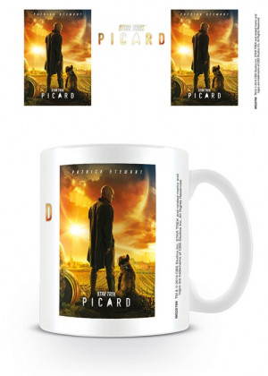 Tazza Star Trek Picard (Picard numero uno)