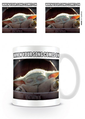 Tazza Star Wars: The Mandalorian Baby Yoda (When Your Song Comes On)
