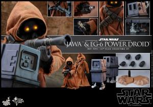 Hot Toys MMS 554 Star Wars IV – Jawa & EG-6 Power Droid