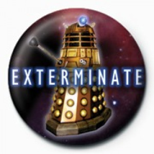 Spilla Doctor Who (Sterminare)