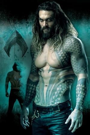 Poster Justice League (Aquaman)