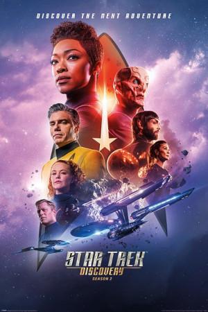 Poster Star Trek Discovery (Next Adventure) 70x100