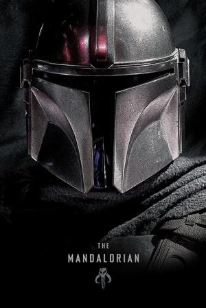 Poster Star Wars: The Mandalorian (Dark)