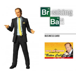 Mezco Toyz Breaking Bad Saul Goodman