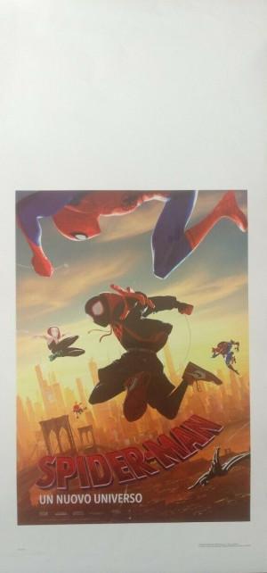 Locandina Spiderman un nuovo universo 33x70