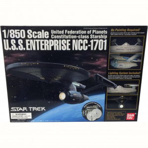 Modellino 1/850 Scale U.S.S. Enterprise NCC-1701 (Refit)