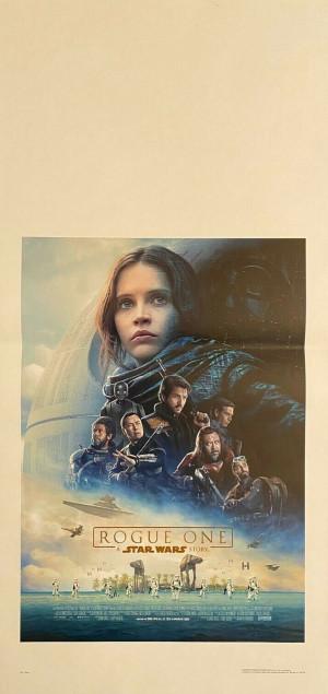 Locandina Star Wars Rogue One 33x70