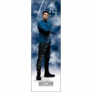 Segnalibro McCoy figura intera Satr Trek Reboot