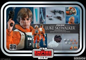 PREORDINE Hot Toys MMS 585 Star Wars V : TESB – Luke Skywalker Snowspeeder Pilot (40th Anniv)