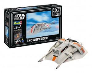 Star Wars Model Kit 1/29 Snowspeeder - 40th Anniversary 19 cm