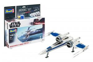 Star Wars Model Kit 1/50 Model Set Resistance X-Wing Fighter 25 cm